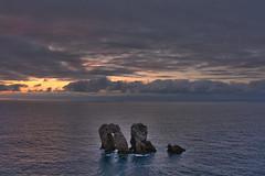 Atardecer en los Urros, Costa Quebrada, Cantabia (Miguel-Angel Lavin) Tags: paisajes nubes cielos atardeceres cantabria mares liencres paisajesmarinos costaquebrada losurros nikond7100