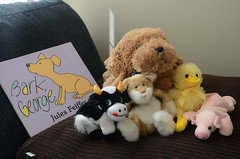 Bark, George (mag3737) Tags: bark george barkgeorge jules feiffer stuffies puppy cat duck pig cow