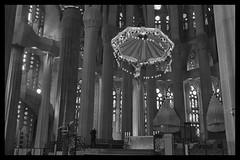 Barcelona Sagrada Familia (chabish123) Tags: barcelona bw familia spain fuji gaudi nik lightroom sagrad colorefexpro xpro2