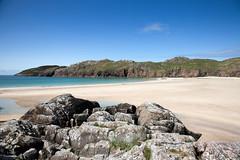 Polin Bay (Teuchter Prof) Tags: polin oldshoremore polinbay polinbeach baghaphollain beach sandybeach rocks rockyshore headland westcoast northwestscotland sutherland scotland