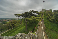 Carisbrooke Castle.last diffence tower (y.mihov, Big Thanks for more than a million views) Tags: carisbrooke castle isleofwight trespass