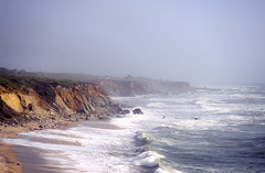 It Never Rains in Southern California (dmj.dietrich) Tags: pacific california cliffs ocean seaside shore shoreline waves fog foggy surf