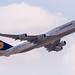 D-ABYC Lufthansa Boeing 747-830 departing via Rwy25C to Washington (KIAD) @ Frankfurt (EDDF) / 08.04.2015