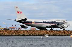 Thai Airways B747-400 'Retro' HS-TGP (altinomh) Tags: airport sydney australia retro international thai boeing airways syd 747 tg b747 744 yssy b747400 hstgp