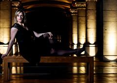 Grace (mikkiandmo) Tags: brussels portrait woman girl beauty female canon model eyes belgium grace blonde tourtaxis