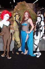 SWC 2O15 - 0733 (Photography by J Krolak) Tags: california starwars costume dancers cosplay jabba anaheim oola arica twilek lynme rystllsant
