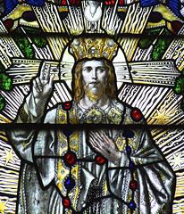 Christ in Majesty (Simon_K) Tags: church churches cambridgeshire eastanglia cambs hunts somersham huntingdonshire