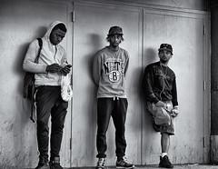 3 Wise Men (Wes Bender) Tags: nyc urban brooklyn mall clothing rats metropolis nets streetshooting olympusem1 olympus1240pro