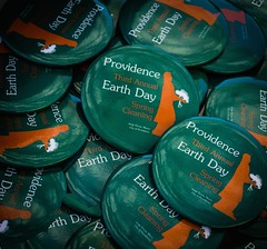 Providence Earth Day Buttons