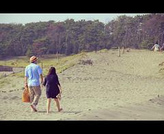 Nakatajima Sand Dunes (Japan) (Shanti Basauri) Tags: ocean sea summer sky beach japan landscape mar sand asia pacific dunes playa paisaje arena  cinematic hamamatsu dunas 2014 japn honshu japonia nakatajima  nakatajimasaky