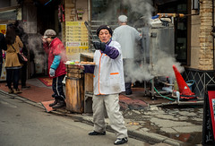 Manju shop (kirainet) Tags: kusatsu gunma manju