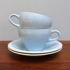 Sissel Blue. (Kultur*) Tags: blue cup vintage design tea kultur sissel cups teacup flint porcelain serving sets saucer scandinavian ragnar figgjo figgio grimsrud etsyvintageteam fiigjo