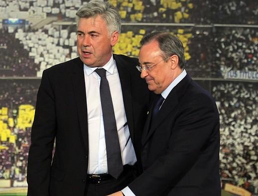 """Perez tự ý """"trảm"""" Ancelotti, Real lục đục nội bộ"""
