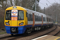 378257 (Rob390029) Tags: travel travelling london public station train oak track diesel transport tracks rail railway lo class transportation transit rails multiple gospel overground gpo unit 378 dmu capitalstar lorol 378257