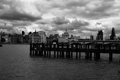 Cloudy day in London (ChriswilliamsDB5) Tags: sky london st thames cathedral pauls