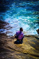 DSC_0056 (FlipperOo) Tags: voyage sea mer france color st rock port de nikon pierre vagues plage morbihan blanc roche arche quiberon instagramapp