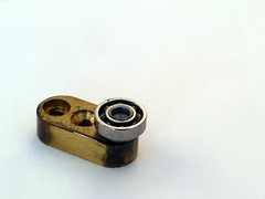 Pieces parts (dmitri.i) Tags: west bronze germany lens parts microscope bearing tessovar