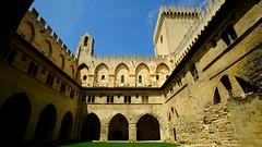"""""""Palais des Papes"""" - Avignon (Vaucluse, Provence, France) (Lautergold) Tags: provence avignon unescoworldheritage palaisdespapes unescowelterbesttte unescopatrimoinemondial"""