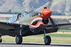 Angry face! (GJC1) Tags: newzealand wanaka warbird airdisplay warbirdsoverwanaka gjc1 wanakaairport geoffcollins