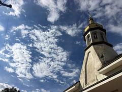 (josemqui) Tags: old cloud love apple church look see cool day arte cloudy mark feel edificio may follow buy trend satisfaction misiones posadas iphone jmq perspedtivepconcrete