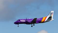 G-LGNJ SAAB 340, Edinburgh (wwshack) Tags: scotland edinburgh edi saab340 loganair flyingbomb turnhouse egph edinburghairport glgnj