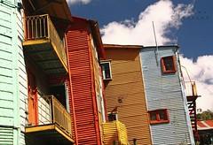 Casas de Caminito (LEJZA) Tags: houses window argentina buenosaires colours colores laboca casas caminito fachadas suramrica