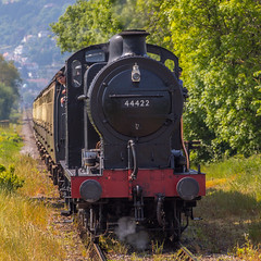 West Somerset Railway no. 44422 (andymulhearn) Tags: canon somerset westsomersetrailway canonef70200mmf4lusm eos7d2