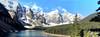 Moraine Lake, Banff National Park, Alberta, Canada - ICE(5)303-313 (photos by Bob V) Tags: panorama mountains rockies alberta banff rockymountains mountainlake albertacanada banffnationalpark morainelake canadianrockies banffpark mountainpanorama
