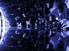 Resistance is Futile (MacroMarcie) Tags: resistance futile resistanceisfutile blue selfie selfportrait mam meagainmonday me lacma art repetition macromarcie marcie marcielynn