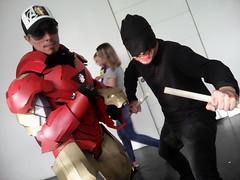 Matt and tony (mateoluzardo) Tags: man kitchen matt comics iron tony devil marvel stark murdock avengers daredevil netflix hells