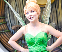Disappointed Tinkerbell (chipanddully) Tags: disneyland tinkerbell peterpan disney fairy tink neverland pixiehollow
