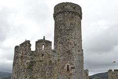 20160616-UK Trip-Conwy Castle-0037 (kuminiac) Tags: 2016 wales conwy castle conwy castle towers dungeons tower dungeon fortress town walls royal royals king edward i longshanks medieval snowdonia cymru knights scenery uk united kingdom