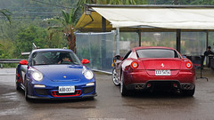 997 GT3 RS v.s. 599 (Brock Mu Photography) Tags: 997 599 gt3rs