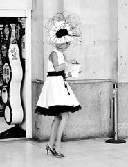 Lottery Winner ? (jaykay72) Tags: street uk blackandwhite bw london candid streetphotography waterloostation londonist stphotographia
