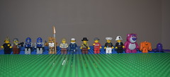 Lego People (mifancm) Tags: bear city people army lego crowd transformers blocks attention buidling lotso