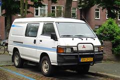 1996 Mitsubishi L300 2.5 TD 4WD (rvandermaar) Tags: 1996 mitsubishi l300 25 td 4wd mitsubishil300 delica mitsubishidelica sidecode5 vhlp33 rvdm