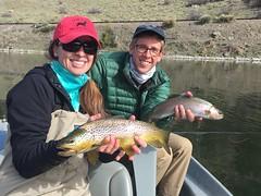 Missouri River Double (FirstCastFly) Tags: fishing montana mo missouri flyfishing trout photostream missouririver catchandrelease flyfishingjunkie firstcastoutfitters