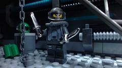 Space Pirate (Brickcrazy) Tags: lego space pirate scifi villain brickfilm stopmotion badguy