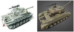 Lego VS WoT 3D model (WW2 Creations) Tags: world 2 two usa 3 wheel soldier army star us 3d model war gun track tank lego suspension 26 d tracks machine m mg vehicles wheeled ww2 vehicle guns ww fighting armored pershing tanks wot compared tracked m26 brickarms