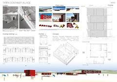 TARIFA CONTAINER VILLAGE_NAVY [Gourbiere] France (rethinkingcompetitions) Tags: sea architecture project arquitectura surfer competition exhibition housing concurso temporary winners tarifa proyectos exposicin surferos temporales proposals ganadores propuestas rethinking alojamientos rehtinking