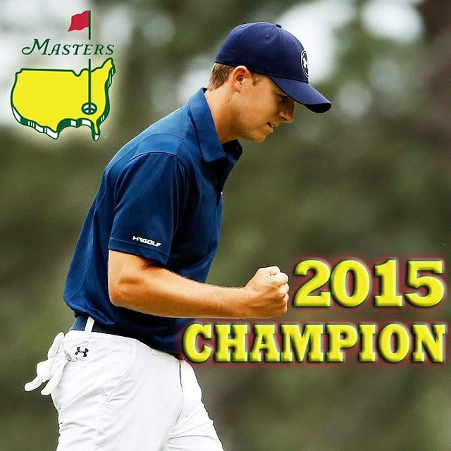 What a CLASS ACT.HISTORY in the making too! Hookem HORNS! #masters #masters2015⛳️ #masterssunday #masterspga