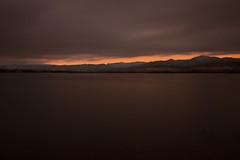 Tranquility (mclcbooks) Tags: longexposure morning sky lake clouds sunrise landscape dawn colorado denver le chatfieldstatepark lakechatfield
