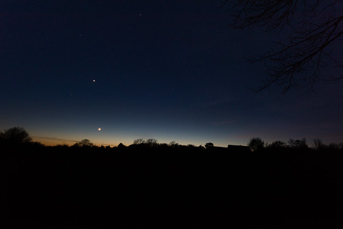 The Moon and Venus 3