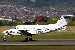 G-IASA_01 (GH@BHD) Tags: corporate aircraft aviation beechcraft executive beech turboprop kingair b200 superkingair bhd belfastcityairport bizprop giasa iasmedical