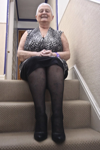 Frocks on the stairs 69/2.
