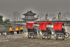Colors in the Smog (DirkLiepoldPhotography) Tags: china city travel xian hdr citywall photomatix