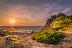 Sunset time (Vagelis Pikoulas) Tags: sunset cloud sun color colour beach colors clouds canon coast spring europe colours may tokina greece 6d 2015 alepochori colorphotoaward 1116mm alepoxwri