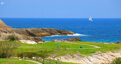 IMG_4153 (49Carmelo) Tags: costa arena rocas horizonte marcantabrico sanjuandelacanal playadesanjuandelacanal