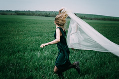 Run with me (Alex Karamanov) Tags: friends light portrait people black color art nature girl field grass contrast landscape seaside mood friendship outdoor atmosphere indoor her melancholy crimea dynamics feelings vsco