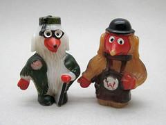 Great Uncle Bulgaria & Tobermory (The Moog Image Dump) Tags: uk pen vintage toy tv uncle great bulgaria kawaii figure topper tobermory womble